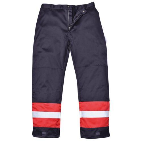 Portwest Bizflame Plus Trouser Flame Resistant Welding Protection FR56