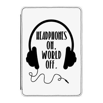 Kopfhörer On World aus Hülle Cover für Kindle Paperwhite - Spaßig Musik Dj ()