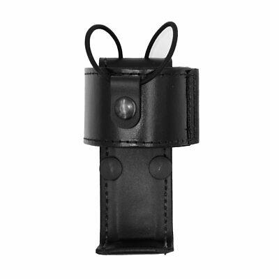 Aker Leather 588u Universal Radio Holder Closure Plain Black