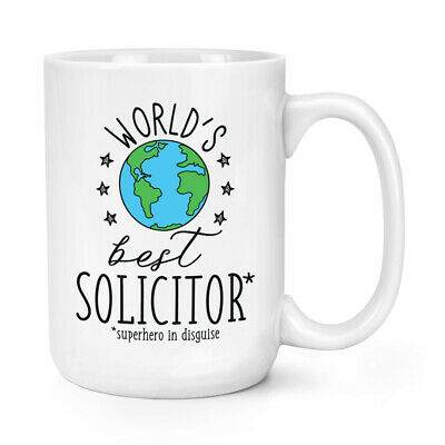 World's Mejor Abogado 426ml Grande Taza Chiste Divertido Favourite Abojado Law