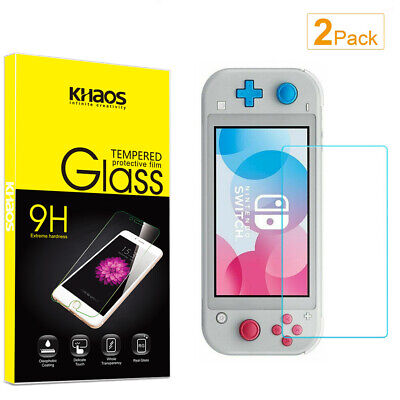 2-Pack Khaos For Nintendo Switch Lite Tempered Glass Screen Protector