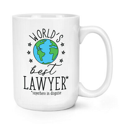 World's Mejor Abojado 426ml Grande Taza Chiste Divertido Favourite Abogado Law