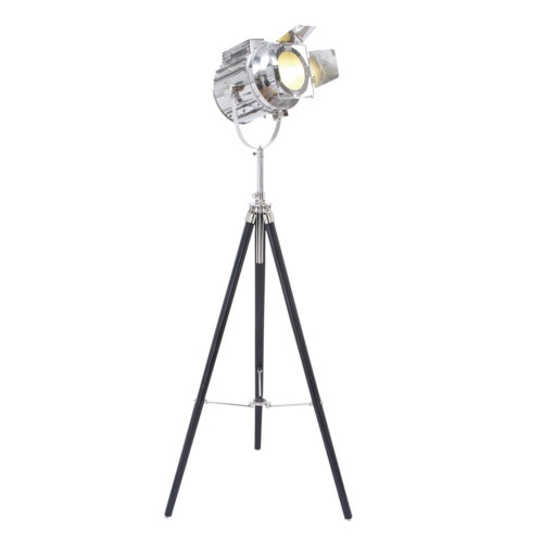 about hollywood studio 66 director 39 s spot light tripod floor lamp. Black Bedroom Furniture Sets. Home Design Ideas