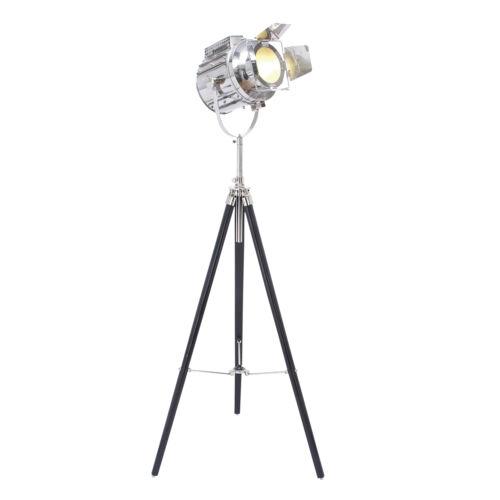 "Hollywood Studio 66"" Director's Spot Light Tripod Floor Lamp"