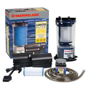 Marineland Magnum 350 Pro Canister Filter Water Polisher ...