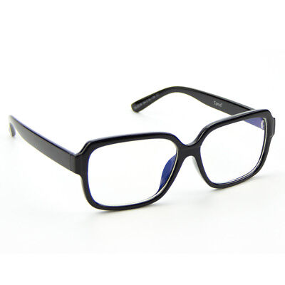 Cyxus Trendy Square Black Blue Light Blocking Computer Glasses for (Trendy Glasses For Men)