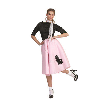 Sandra Dee Grease (Pink Poodle Skirt 50's Scarf Sock Hop 1950's Retro Grease Sandra Dee)