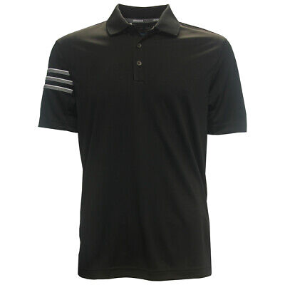 Adidas Golf Men's ClimaCool 3-Stripe Club Polo Shirt,  Brand NEW Climacool Golf Shirts