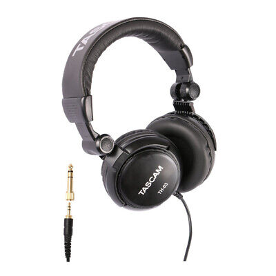 Tascam TH-03 Closed Back Headphone (Black)