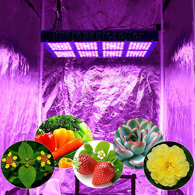 MEIZHI Reflector 1200W LED Grow Light Full Spectrum Hydroponics Switches Indoor