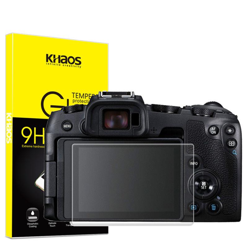 Khaos For Canon EOS RP Tempered Glass Screen Protector