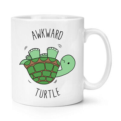 Awkward Turtle 10Oz Mug Cup   Tortoise Funny Joke Silly Animal