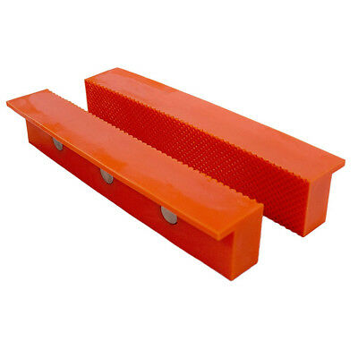 Multi Purpose Bench Vise - Multi Purpose Vise Jaw Cover 6in Plastic Magnetic Back Metal Bench Grip Tool New