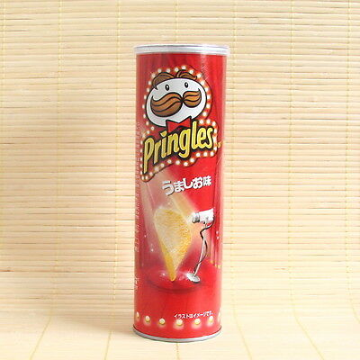 Japanese PRINGLES LIGHT SALT Umashio Chips Japan Candy potato snacks THIN CAN
