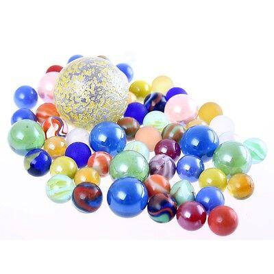 dekorative Glasmurmeln Knicker Marbles verschiedene Größen (Glas-murmeln)