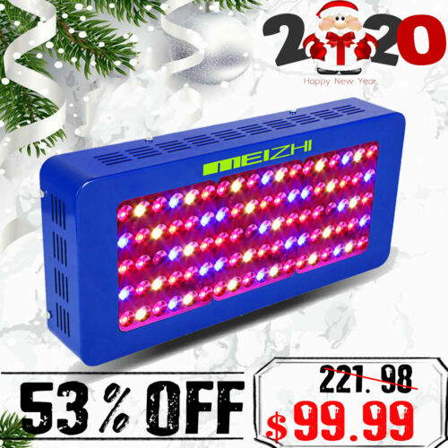 New MEIZHI 450W LED Grow Light Full Spectrum Hydroponic VEG Bloom Indoor Plant Panel Meizhi MEIZHI 450w LED for 99.99.