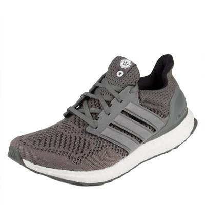Adidas Mens Ultra Boost HighSnobiety Grey/White S74879 Size 11.5 for sale  Shipping to India