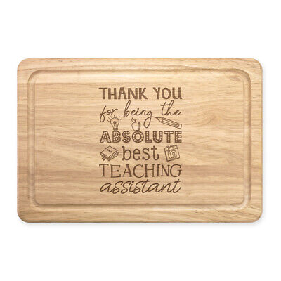 Thank You For Being The Best Teaching Assistant Rectangular Chopping