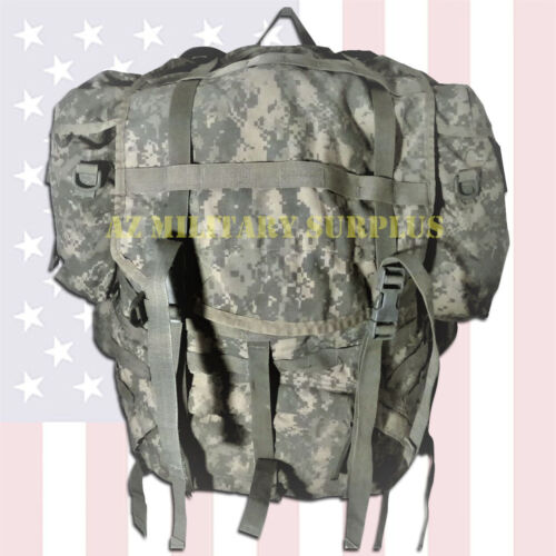 GOOD US Military Rucksack External Frame Backpack Complete Assembled +Free FedEx