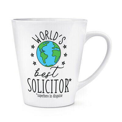 World's Mejor Abogado 341ml Latte Taza Chiste Divertido Favourite Abojado Law