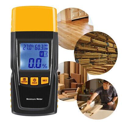 Moisture Meter Detector Tester Wood Firewood Concrete Drywall Damp Digital Lk