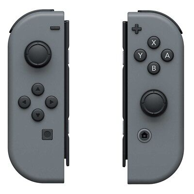 Official Nintendo Switch Joy-Con (L/R) Left & Right Wireless Controllers - Gray