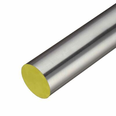 316 Tgp Stainless Steel Round Rod 0.669 17mm X 24 Inches