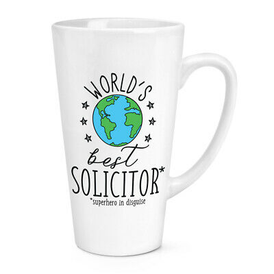 World's Mejor Abogado 483ml Grande Latte Taza Chiste Divertido Favourite Abojado