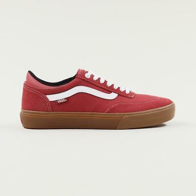 Vans Pro Skate Gilbert Crockett 2 Skateboarding Shoes Gum Mineral Red White