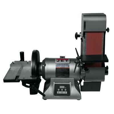 Jet 577634 Ibdg-436vs Variable Speed Industrial 4 X 36 Belt 9 Disc Grinder