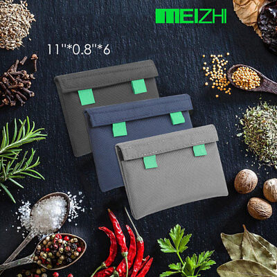 Meizhi Smell Proof Bag Dog Tested Storage Bag Multifunction Container Usa Ship