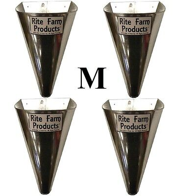 4 Pack-medium- Restraining Killing Kill Processing Cone For Poultry Chicken Foul
