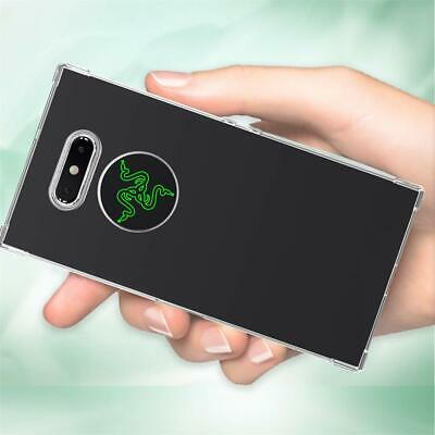 Razer Phone 2 Case Shockproof Flexible TPU Bumper Protection Slim Crystal Clear Crystal Protection Phone Case