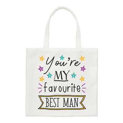 You're My Favourite Best Man Stars Regular Tote Bag Funny
