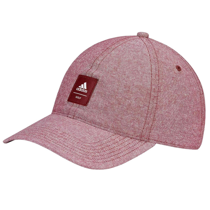 Adidas Mully Performance Adjustable Golf Hat, Scarlet Red