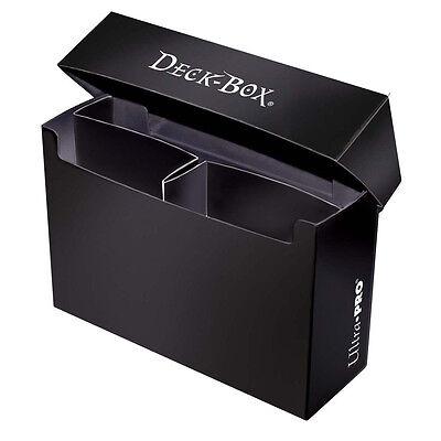 Ultra Pro: Oversized Deck Box - Black (Hold 2 Decks)