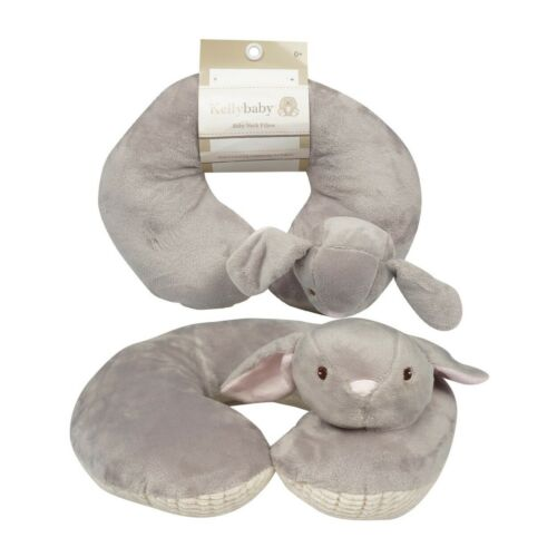 "Baby Neck Pillow 10"" bunny helps support head and neck FREE SHIPPING"