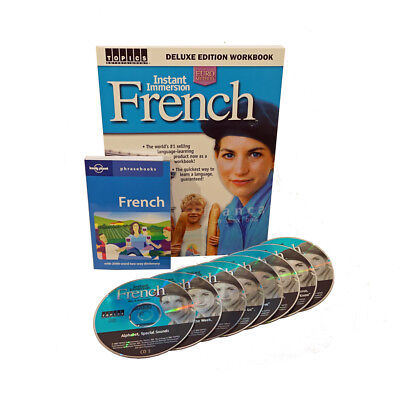 Learn to Speak & Understand FRENCH Language 8 Audio CDs w/ Workbook / Phrasebook