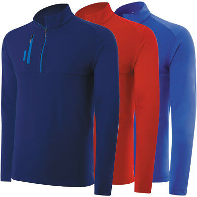 Adidas Golf Men's Pure Motion Mixed Media 1/4 Zip Pullover,  Brand -