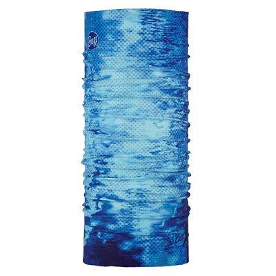 Buff Unisex CoolNet UV+ Pelagic Camo Blue Multifunktionstuch Schlauchtuch NEU