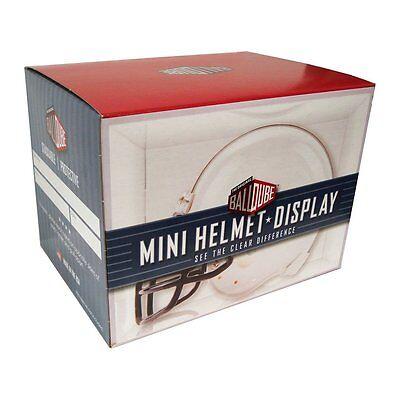 BALLQUBE MINI HELMET HOLDER DISPLAY CASE & PROTECTION ~ New in the Box