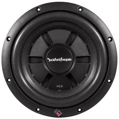 """Rockford Fosgate R2SD2-10 10"""" 400W Dual 2 Ohm Shallow Car Audio Subwoofer"""