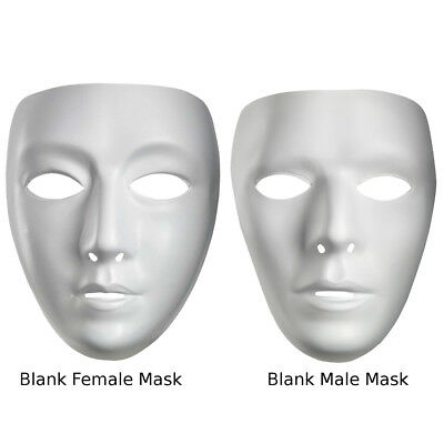 Blank Masks Choose Your Mask White Jabbawockeez JBWKZ Costume Drama Adult Purge (Jabbawockeez Maske)