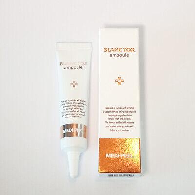 MEDI PEEL Blanc Tox Ampoule 10ml Moisture Nutrient Elasticity Firmness K-Beauty