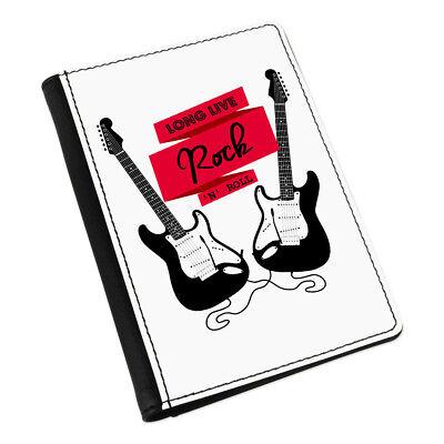 Largo Live Rock&Roll Guitarra Eléctrica Funda de Pasaporte Cartera - Música