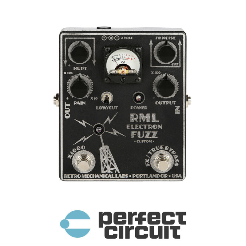 Retro Mechanical Labs Electron Fuzz Distortion Metal EFFECTS - NEW - PCA