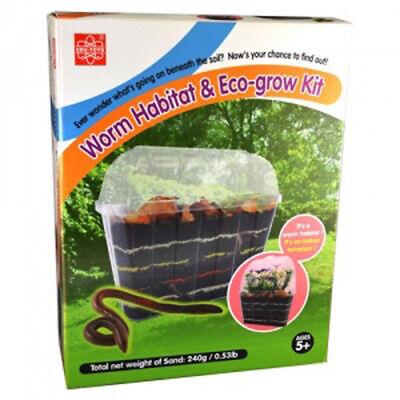 Edu-Toys Edu-Science Worm Habitat and Eco-grow Kit