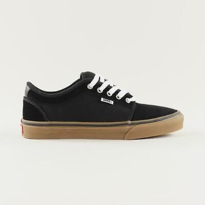 Vans Pro Skate Chukka Low Skateboarding Shoes Trainers Black Gum White