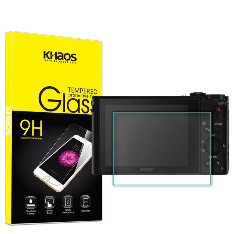 Khaos For Sony DSC-HX90 HX90V/B DSC-WX500 Tempered Glass Screen Protector