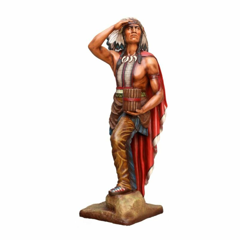 Chief Tobacco Cigar Store Indian Life Size Statue